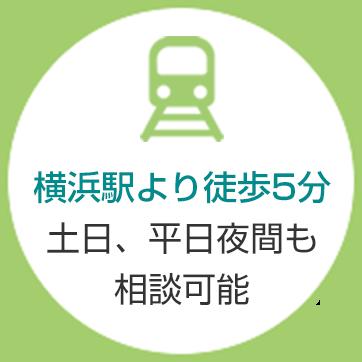 横浜駅より徒歩5分
